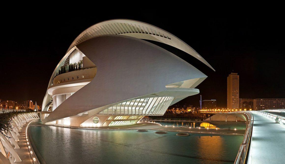 El Palau de les Arts Reina Sofia - Valencia
