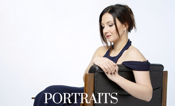 Portraits of the soprano Mariangela Sicilia